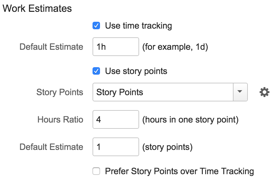 work estimate